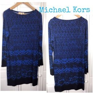 MICHAEL KORS PRINT JERSEY DRESS